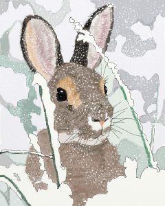 Xmas Rabbit